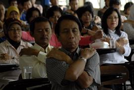 MTDS Bagi Staf Pengajar di Kampus FKM UNDIP