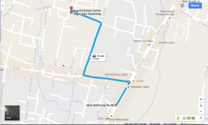 Dari Jl. Kaliurang