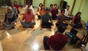 Meditation Class - AKC Joglosemar