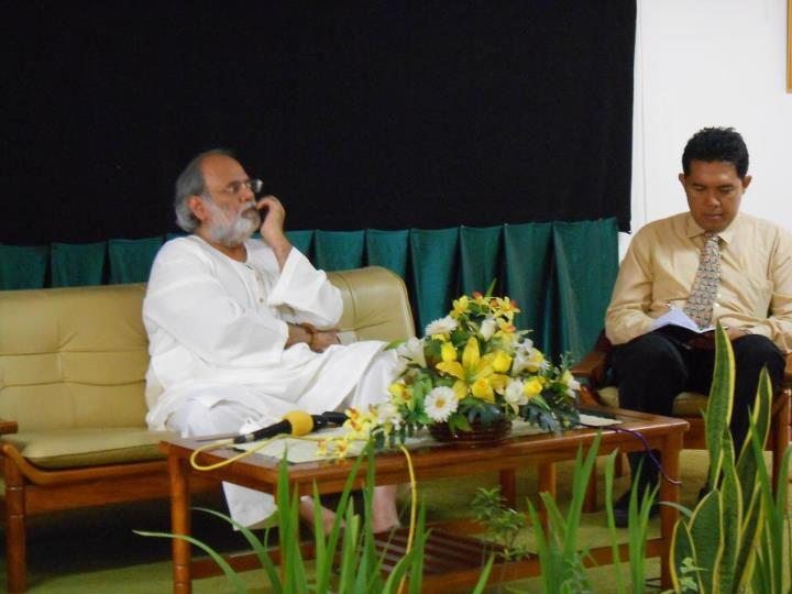 Lecture on Spiritual Tourism at Sahid Institue